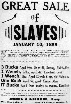 slave sale