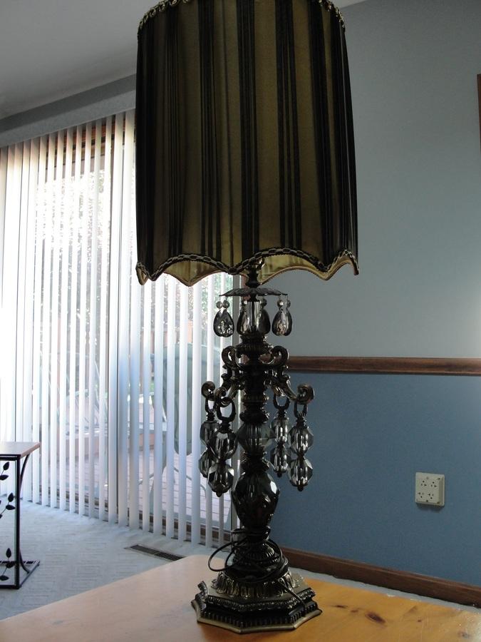 Jd Green Lamp Shades : Green and black lamp artifact collectors
