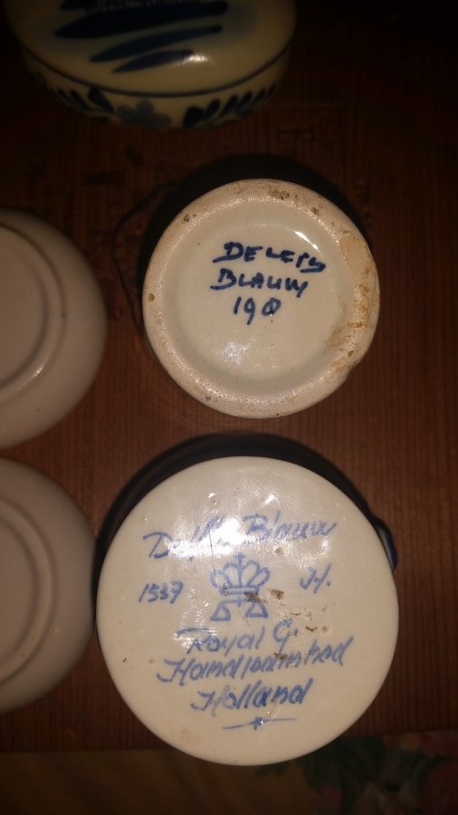 Delft Blauw Blue Real Fake Artifact Collectors
