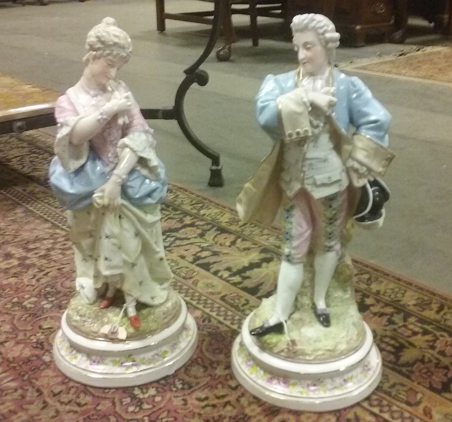 Need Help Identifying A Mark On Porcelain Figurines