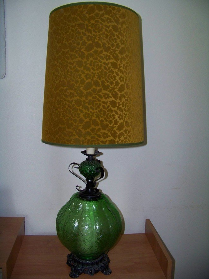 Jd Green Lamp Shades : Just purchased at an estate sale l lwmc lamps