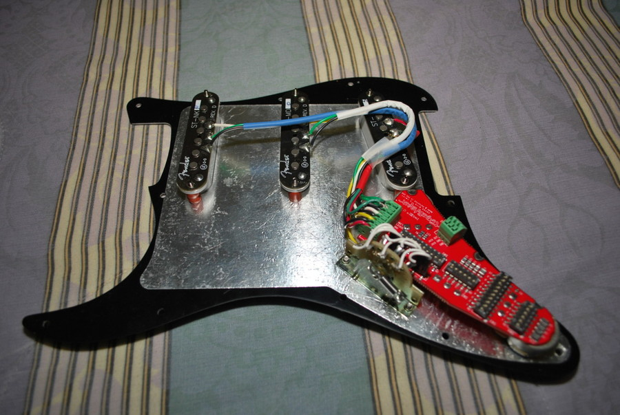 fender stratocaster moderation project axe central toneshapers and fender scn pickups