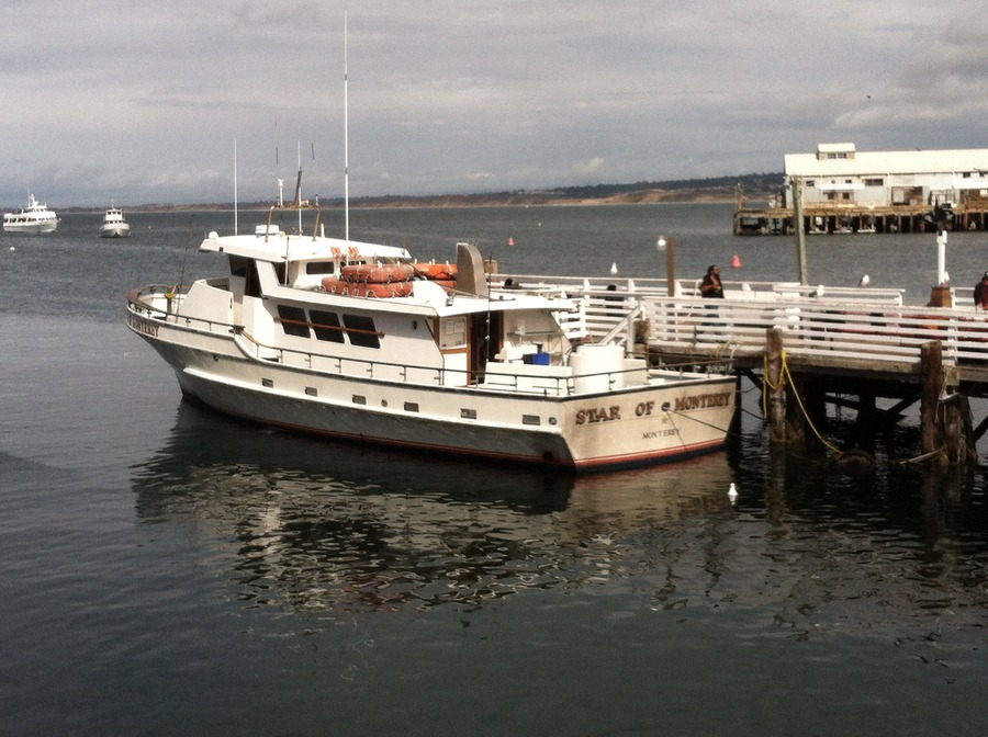 Rockcod fishing in monterey california fishing talks for Deep sea fishing california