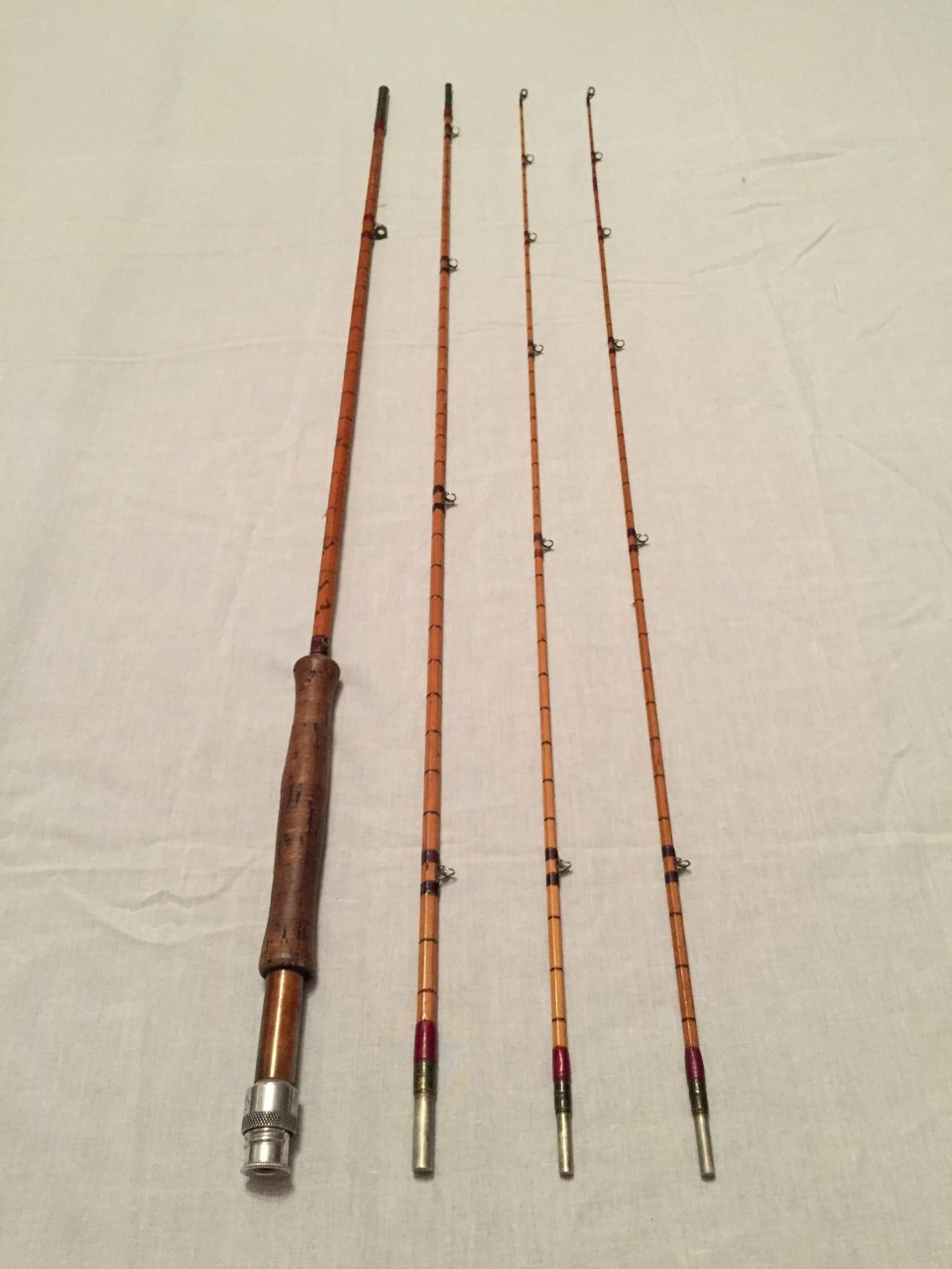 Can someone tell me the value of a hardy palakona rogue for Old fishing rods worth money