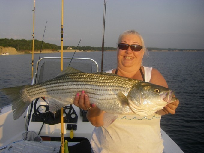 Lake texoma fishing report july 17 21 fishing talks for Fishing guides on lake texoma