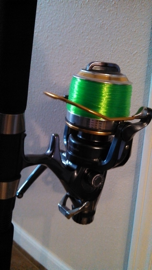 So i came across this huge open face reel for on ebay its for Open face fishing reel