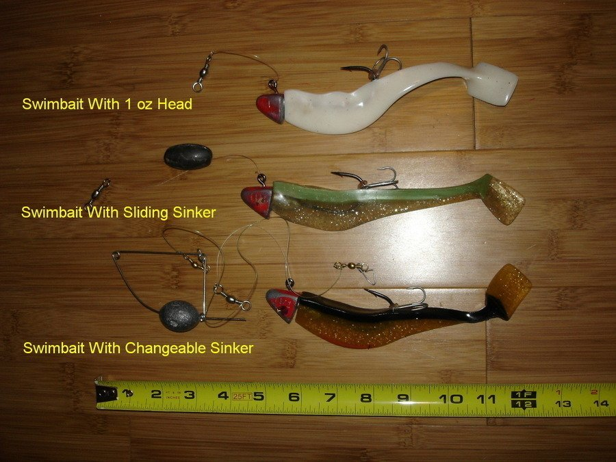 Which type of fishing lure is good for which fish for Striper fish bait
