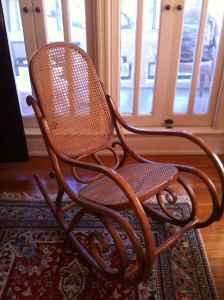 Thonet Rocking Chair Made In Poland