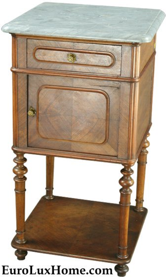 Antique French Nightstand Repurposed To Kitchen Table My