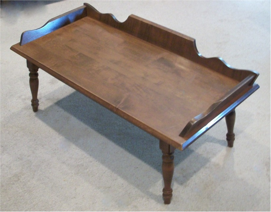 This Coffee Table Bench Was Sold To Me As 1960 39 S Hard Rock Maple Coffee Ta My Antique