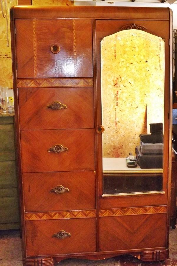United Furniture Corporation Nc Depression Era Wardrobe Bedroom Set More Info Value