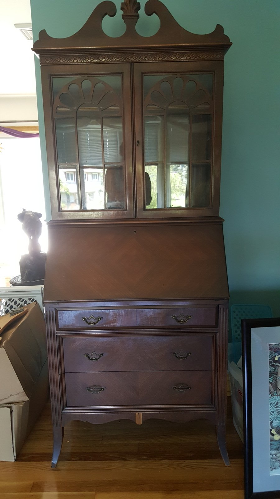 Rockford Secretary My Antique Furniture Collection