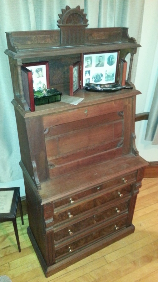 Boston Secretary Desk 19th Century My Antique Furniture Collection