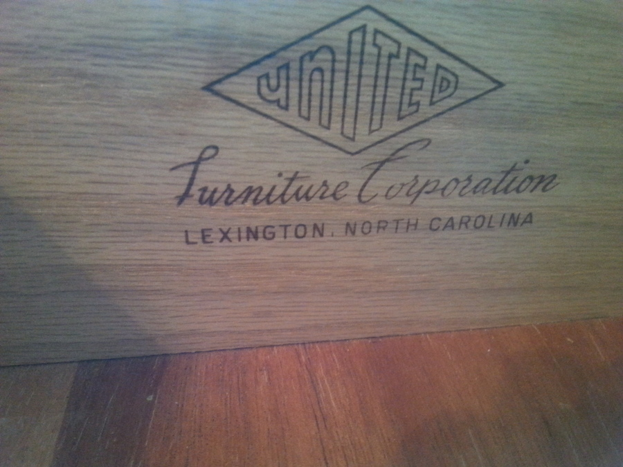 3 Piece Dresser Vintage Set United Furniture Corporation Nc My Antique Furniture Collection