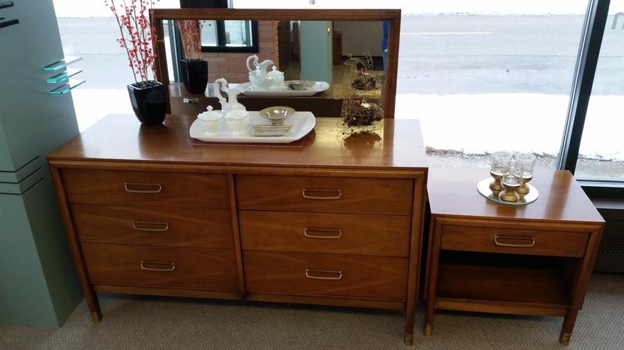 Amazing Vintage Drexel Mcm Bedroom Set My Antique Furniture Collection