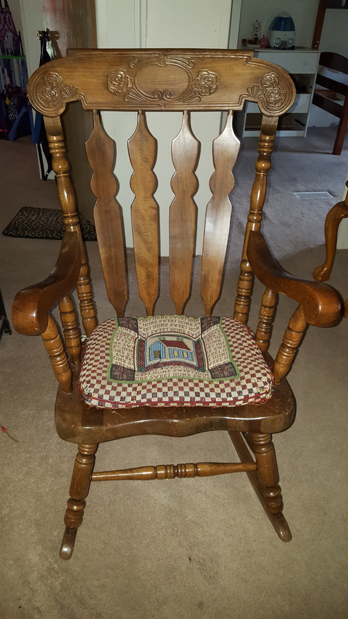 How Much Is My Sk 814 Rocking Chair Worth I 39 M Trying To Sell This Item My Antique Furniture