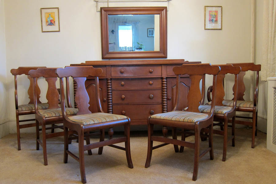 Early Mid 20th Century Macy 39 S Dining Room Set My Antique Furniture Collection