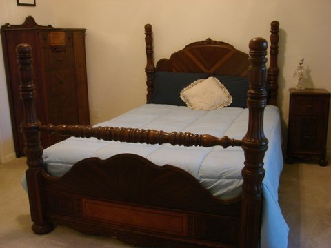Bedroom Furniture Wardrobe And Bed