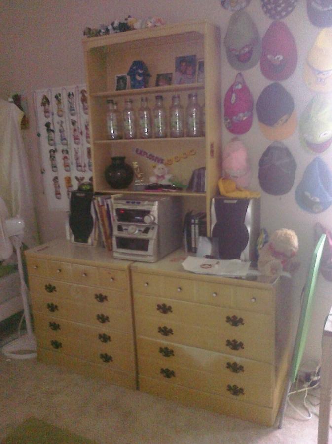 7pc Living/Bedroom Canopy Bedroom Set Ethan Allen Bramritter NY ...