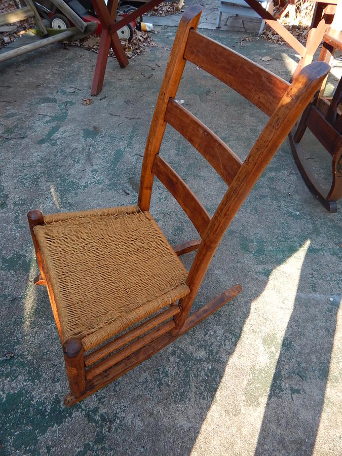 Would anyone know whether this child 39 s rocking chair could for What is considered antique