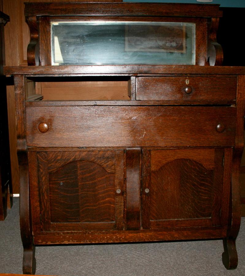 larkin co oak buffet my antique furniture collection. Black Bedroom Furniture Sets. Home Design Ideas
