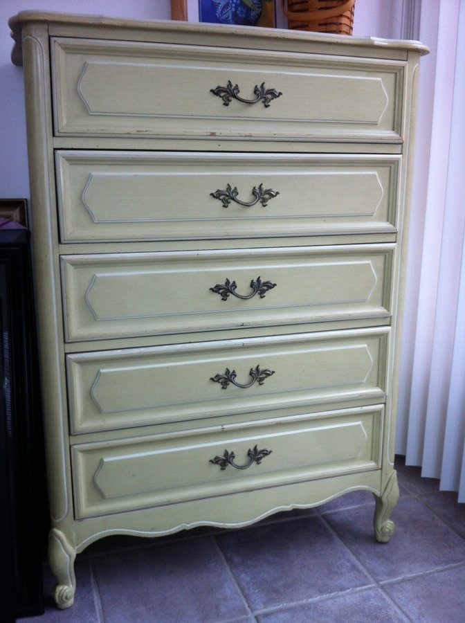 I Have A Henry Link Cream French Provencial Bedroom Set With Twin Canopy Be My Antique