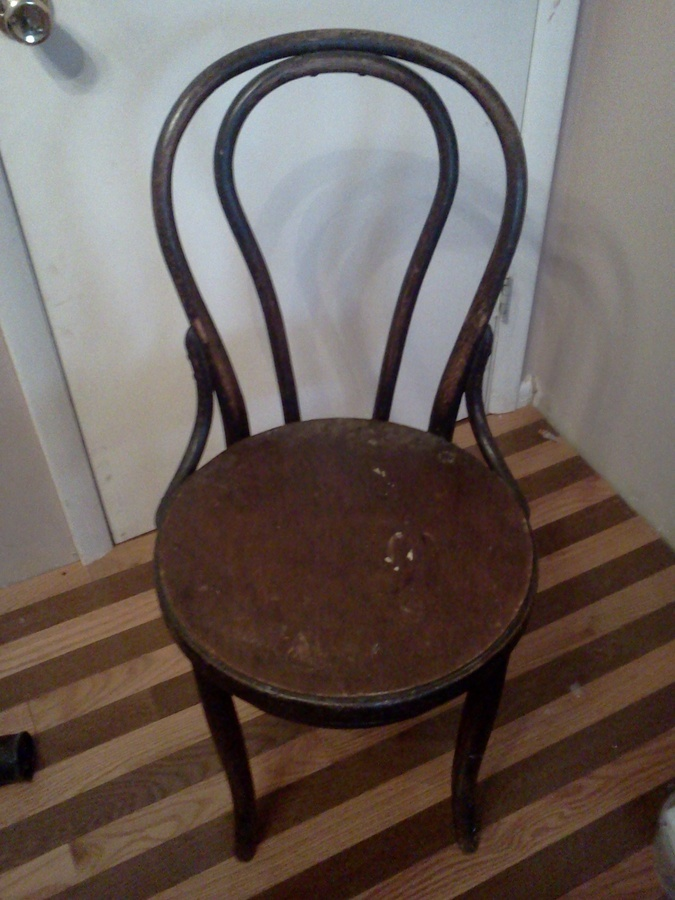 Thonet No 18 Vienna Cafe Chair Or Knockoff My Antique Furniture Collection