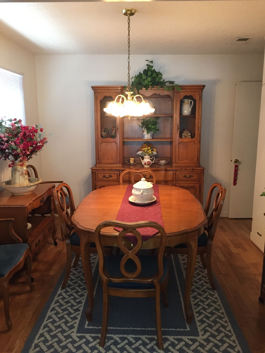 thomasville dining room set | my antique furniture collection