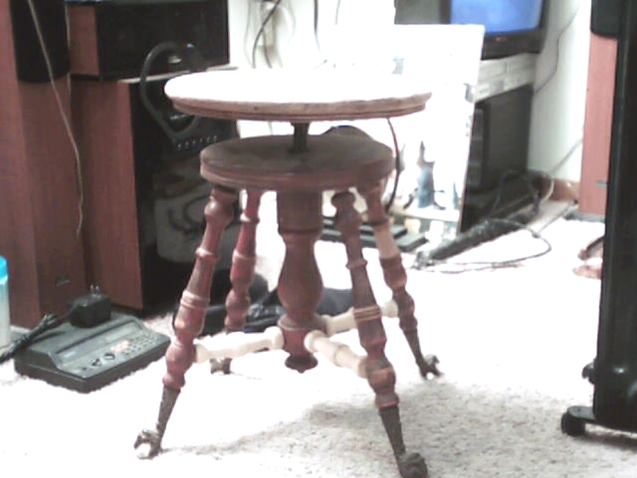 Clawfoot Piano Stool My Antique Furniture Collection