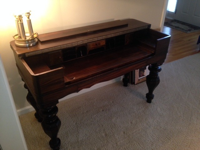 What Is This Antique Desk Worth My Antique Furniture