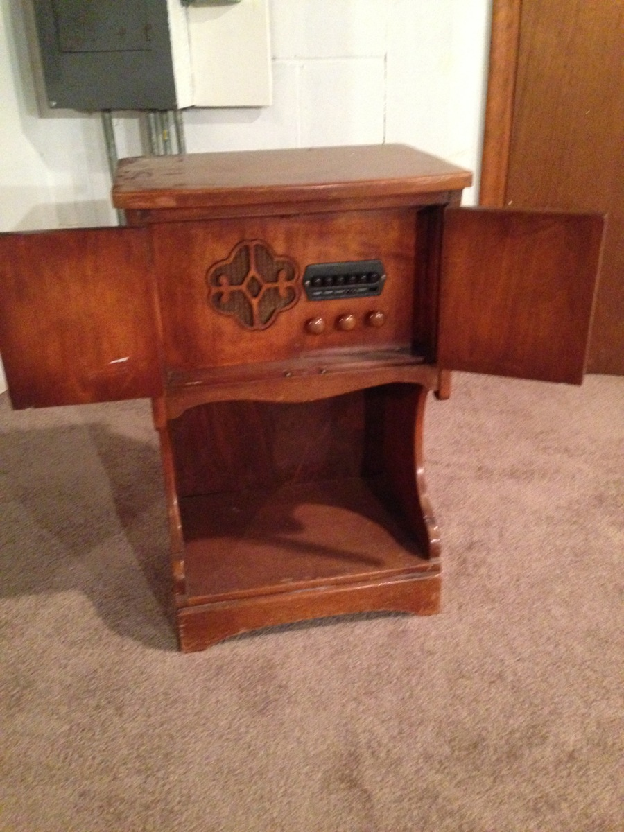 Value Of Cushman Creations Cabinet Radio My Antique Furniture Collection