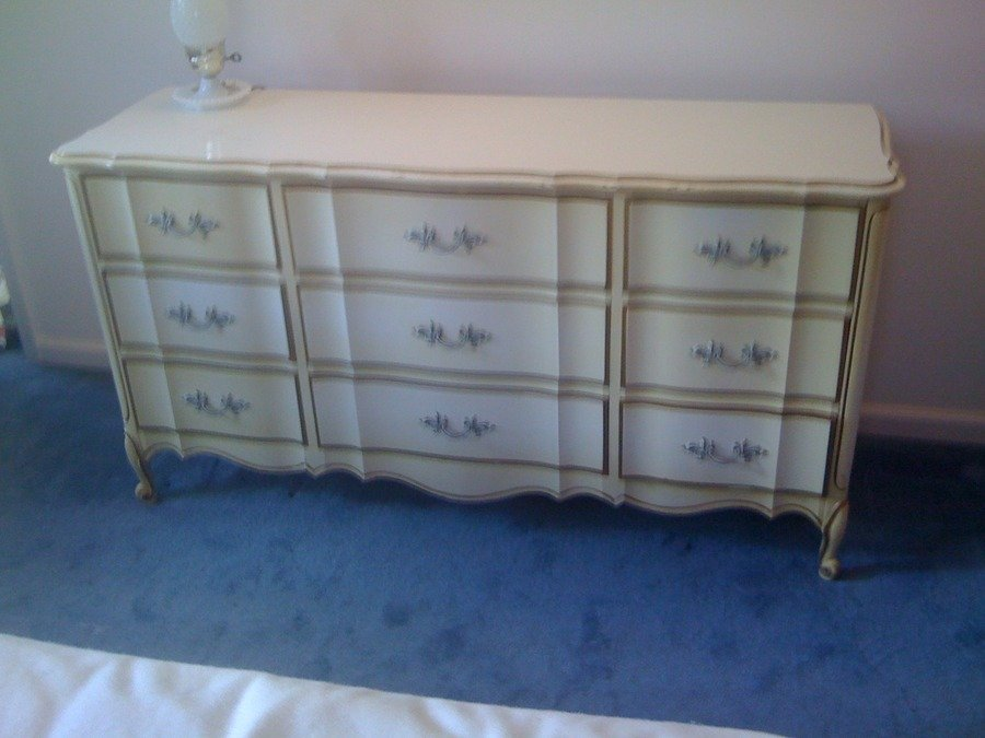 White french provential bedroom set my antique for White dresser set bedroom furniture