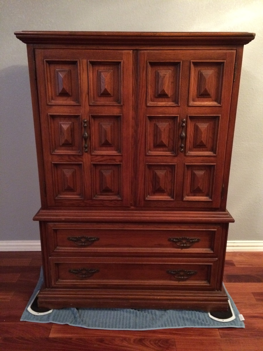 Link-Taylor Armoire Dresser : My Antique Furniture Collection