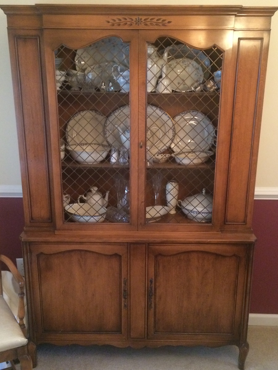It Has Two Additional Leafs And Pads For The Table I Dont Know Where To Find Numbers On China Cabinet Or Side Board Buffet Server
