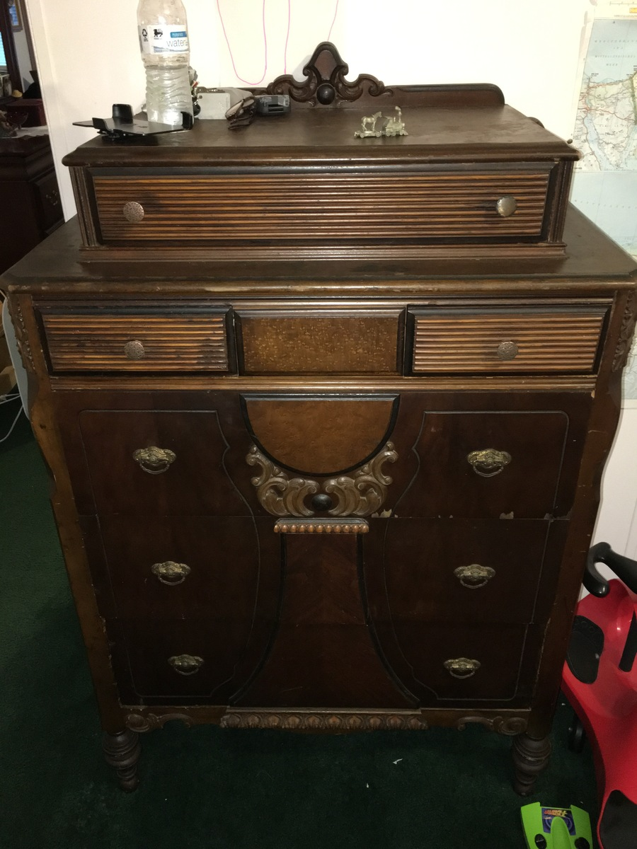Can Anyone Tell Me About This Dresser My Antique Furniture Collection