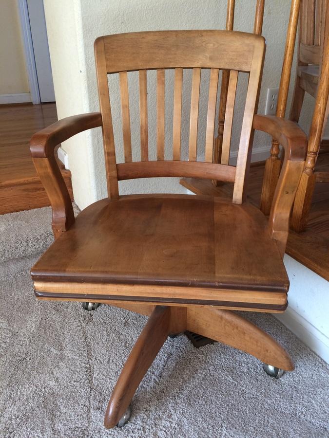 Gunlocke Swivel Chair 1940 Value My Antique Furniture Collection