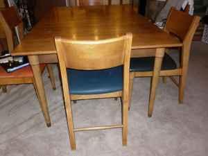 Drexel Circa 1950 S Dining Table Set My Antique