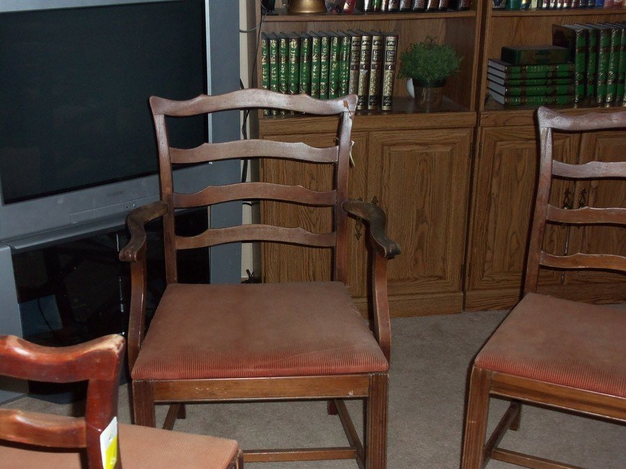 I Have 4 Chairs One Has Arms. They Say Jamestown Table Co Jamestown Ny Ans ... : My Antique ...