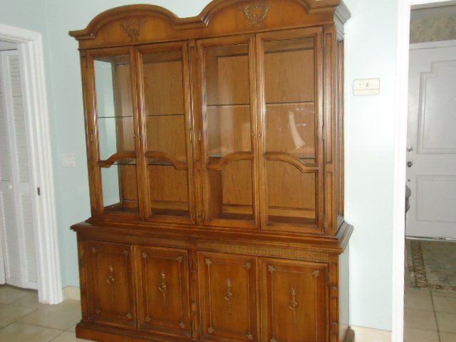 United Furniture Corporation China Cabinet My Antique