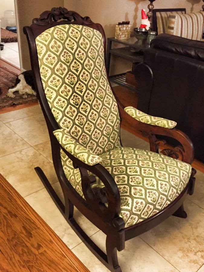 I Reupholstered A Rocking Chair For A Neighbor Can Anyone
