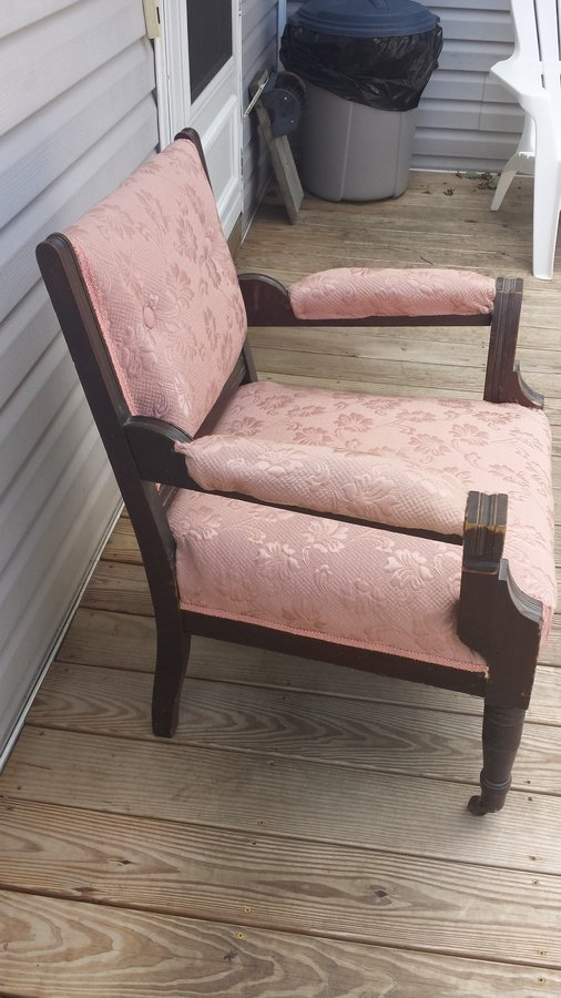 How Old Is This Chair Thanks For Any Reply Front Casters