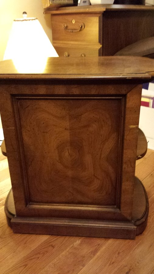 Henredon Side Table Folio Four My Antique Furniture Collection