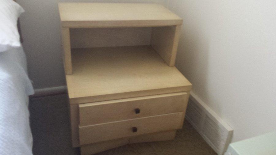 American of martinsville blonde mahogony dresser value for Blonde bedroom furniture