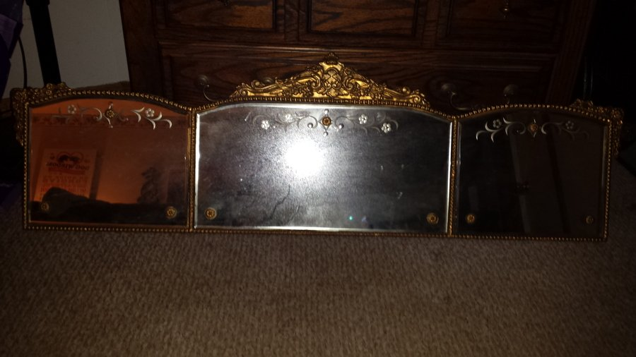 My Grandmother 39 S John Kinsella Mirror My Antique Furniture Collection