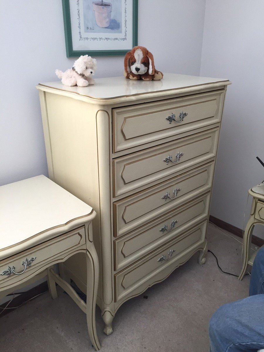 I Have A Henry Link Cream French Provencial Bedroom Set