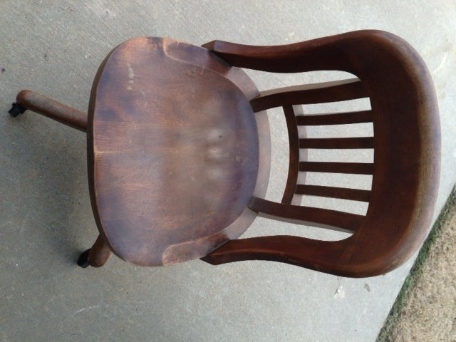 Bankers guest chair - Approximate Age And Value Of Chair My Antique Furniture Collection