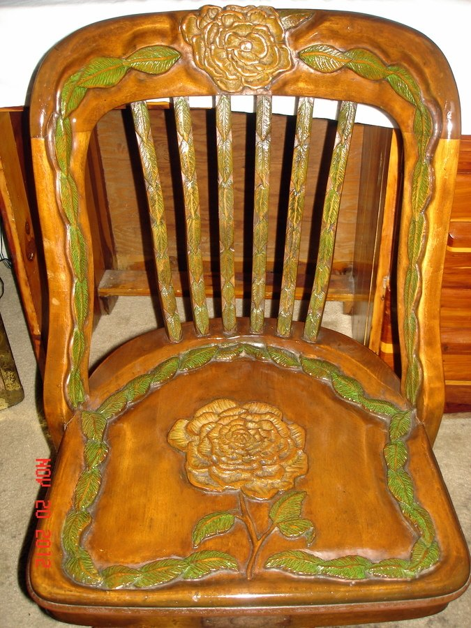 Old Milwaukee Chair Company My Antique Furniture Collection