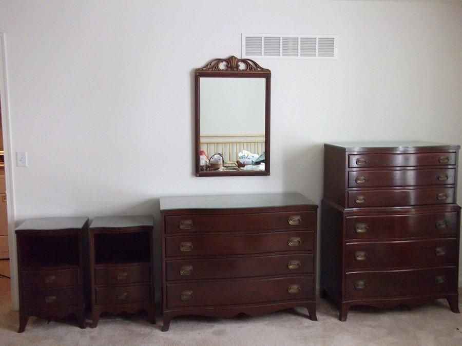 Benck Fine Furniture of New York 5 piece bedroom set. Bedroom set   My Antique Furniture Collection
