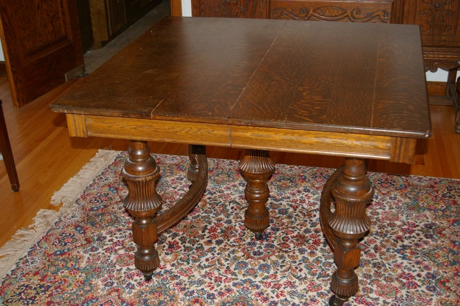 Age Of Dining Table And Value My Antique Furniture