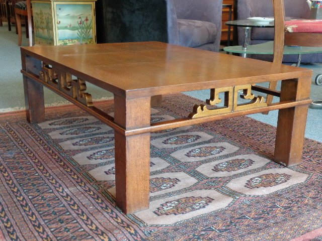 Mahogany Mid Century Heritage Henredon Coffee Table From I Believe The 19 My Antique